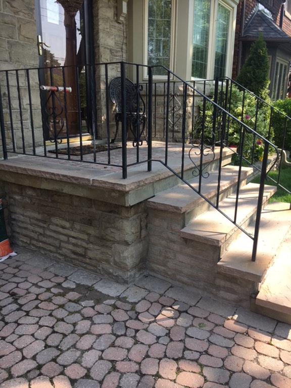 Porch Step Repair-a