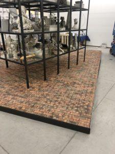 Brick Veneer floor